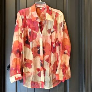 COLDWATER CREEK (2X) Blouse, Exquisite Fall Color